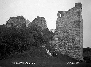 Pickering Castle, North Yorkshire