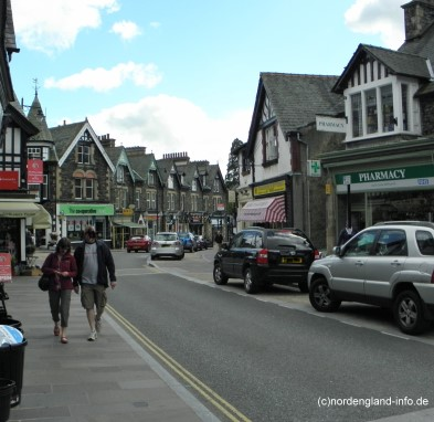 Bowness-On-Windermere Nordengland
